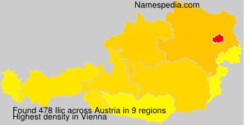 Surname Ilic in Austria
