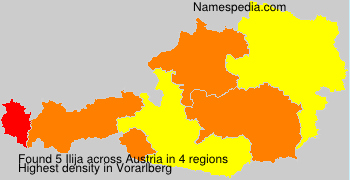 Surname Ilija in Austria
