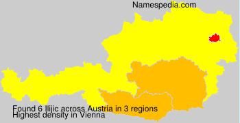 Surname Ilijic in Austria