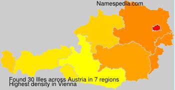 Familiennamen Illes - Austria