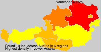 Familiennamen Inal - Austria