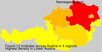 Familiennamen Innthaler - Austria