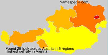 Surname Ipek in Austria