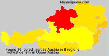Familiennamen Ippisch - Austria