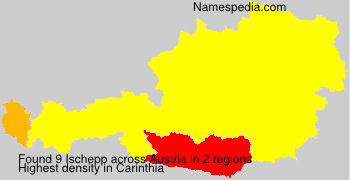 Surname Ischepp in Austria
