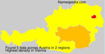 Surname Isda in Austria