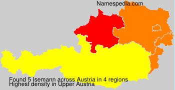 Surname Isemann in Austria