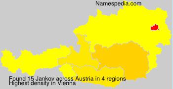 Familiennamen Jankov - Austria
