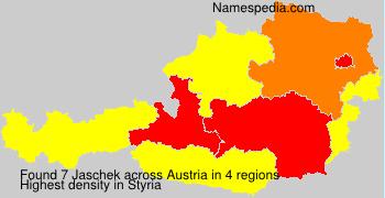 Surname Jaschek in Austria