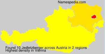Familiennamen Jedletzberger - Austria