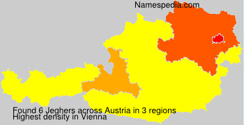Surname Jeghers in Austria