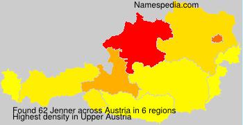Familiennamen Jenner - Austria