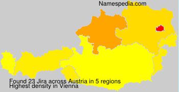 Surname Jira in Austria