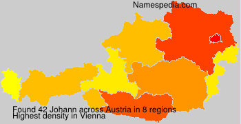 Surname Johann in Austria