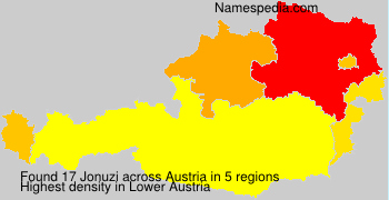 Surname Jonuzi in Austria