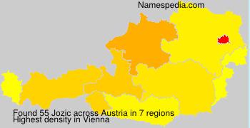 Surname Jozic in Austria