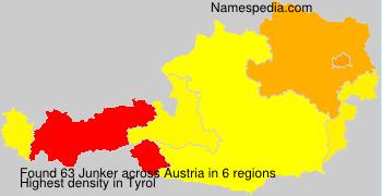 Surname Junker in Austria