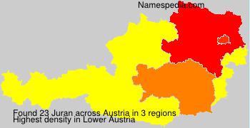 Surname Juran in Austria
