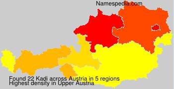 Familiennamen Kadi - Austria