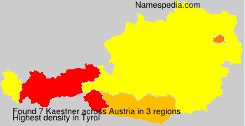 Surname Kaestner in Austria