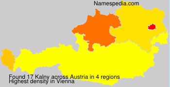 Surname Kalny in Austria