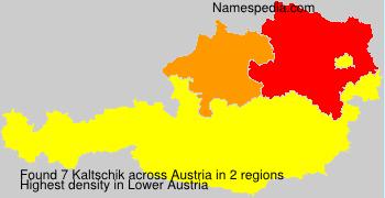 Surname Kaltschik in Austria