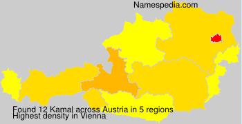 Surname Kamal in Austria