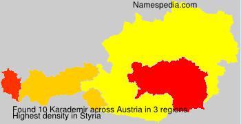 Surname Karademir in Austria