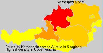 Familiennamen Karahodzic - Austria