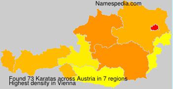 Surname Karatas in Austria