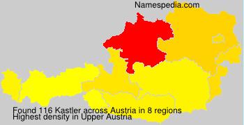 Surname Kastler in Austria
