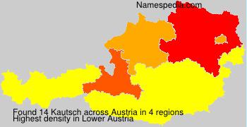 Familiennamen Kautsch - Austria