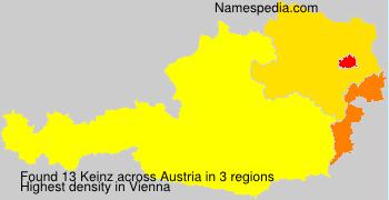 Surname Keinz in Austria