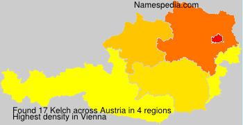 Surname Kelch in Austria