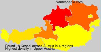 Surname Kessel in Austria