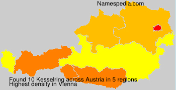 Surname Kesselring in Austria