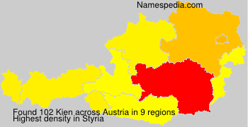 Surname Kien in Austria