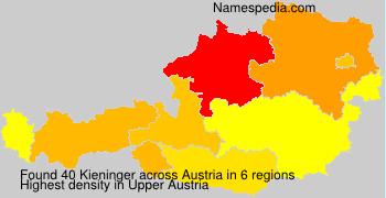 Surname Kieninger in Austria