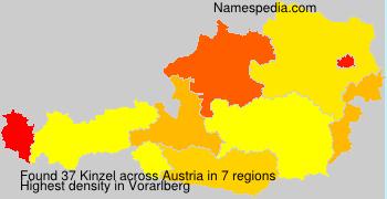 Surname Kinzel in Austria