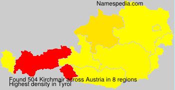 Surname Kirchmair in Austria