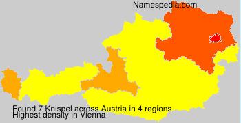 Familiennamen Knispel - Austria