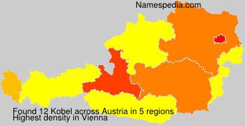 Familiennamen Kobel - Austria