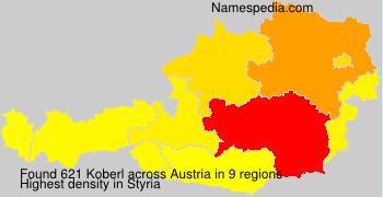 Familiennamen Koberl - Austria