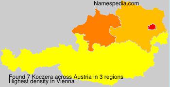 Surname Koczera in Austria