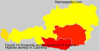 Surname Konecnik in Austria