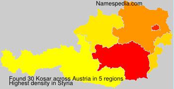 Surname Kosar in Austria
