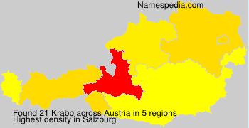 Surname Krabb in Austria
