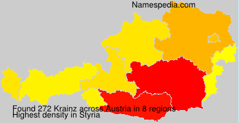 Surname Krainz in Austria