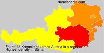 Surname Kremnitzer in Austria