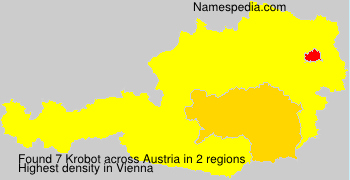 Familiennamen Krobot - Austria